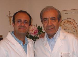 Il Dottor Calogero Zuffante e Stefano Zuffante, per smettere di fumare grazie all'auricoloterapia